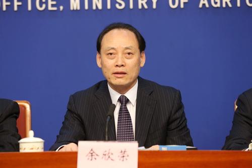农业部副部长余欣荣介绍农业结构调整有关情况