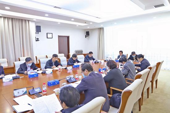 中国农科院召开学习贯彻新时代党