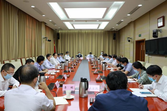 农业农村部召开第十批援疆干部行前座谈会
