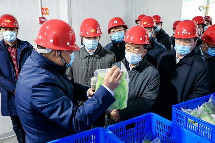 唐仁健在北京调研时强金宝搏体育调扩大生产范围 流通供销