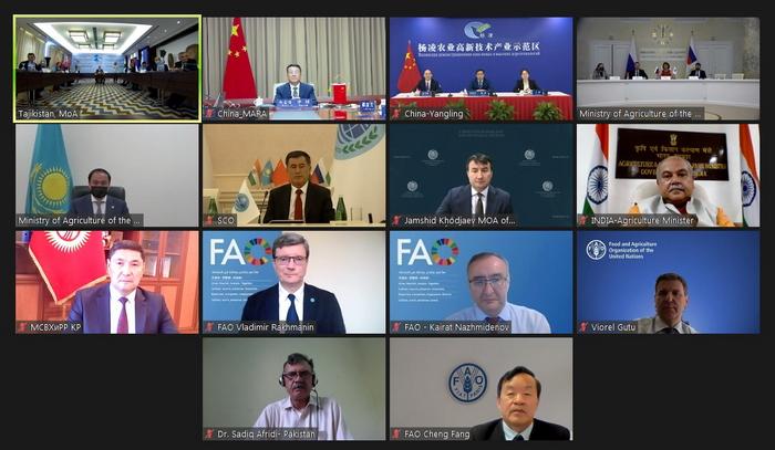 第六届上合组织成员国农业部长会举行(图3)
